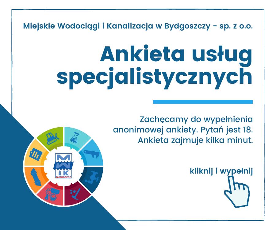 Ankieta usług specjalistycznych - kliknij i wypełnij!